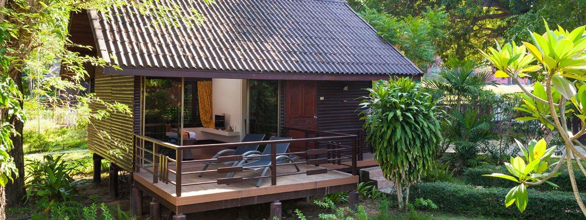 Phi Phi Natural Resort Family Resort On Laemthong Beach Phi Phi